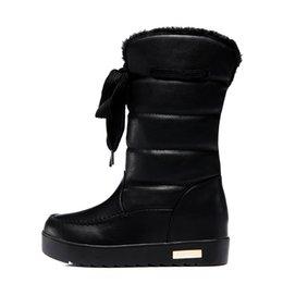 50c26dcc Mujeres Negro Marrón Rosa Moda Botas de nieve Nuevo Popular Al aire libre  Cálido Zapatos cómodos Botas Entrega rápida
