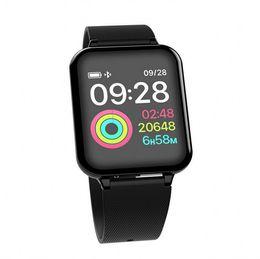 $enCountryForm.capitalKeyWord Australia - New B57 Smart Watch Bracelet IP67 Waterproof Heart Rate Monitor Blood Pressure Fitness Tracker Women Men Sport Wearable Watch