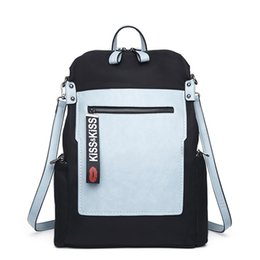 girls hand bags new style 2019 - Woman Backpacks 2019 New Multifunctional Backpack Female Hand Shoulder Bag Korean Style School For Girls Laptop Bag Hm18