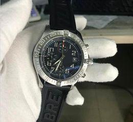 $enCountryForm.capitalKeyWord Australia - New hot sale Mens Watch Stainless steel Men's Wrist Watches Quartz Six Needle Super Avenger II Male Rubber Watch free shipping