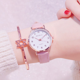 Leather watch design for girLs online shopping - Simple Quartz Watches for Women Ladies Dress Creative Clock Small Dial Design Wristwatch New for Girls Gifts