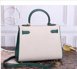 ZXC alta bolsa de qualidade, bloqueio ombro, senhora luxo, impressão leite palma, vaca de moda em couro designer mala bolsa venda por atacado