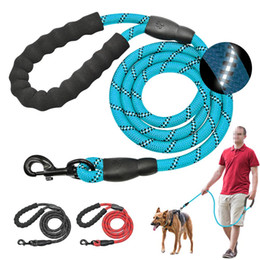 pistes de chien achat en gros de-news_sitemap_homeRéfléchissant Grand chien en nylon Corde Leash Pet Tracking Courir Laisses long plomb bouvier Corde d escalade pour Medium Large Big Dog