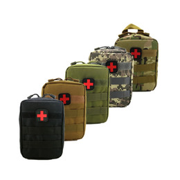 Emergency Packs Australia - New Nylon Portable Military Bags Outdoor Tactical Emergency First Aid Bag Wallet Molle Emergency Medical Pouch Hunting Bag Pack #257921