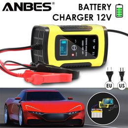 $enCountryForm.capitalKeyWord Australia - Full Automatic Car Battery Charger 110v To 220v To 12v 6a Lcd Smart Fast For Auto Motorcycle Lead-acid Batteries Charging J190427