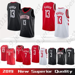 Stitched Houston 13 Harden James Rockets Jersey 3 Paul Chris 7 Anthony  Carmelo Top Men High Quality Basketball Outdoor Apparel Jerseys e7a784d53