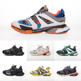Discount blue shoes band New Track 3.0 Mens Womens Luxury Designer Sneakers 2019 18SS Jogging Triple S High Quality Top Fashion Casual Shoes Runn