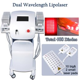 Fat reduction machines online shopping - lipolaser machine weight loss Double Chin Reduction Lipolaser Fat Reduce Slimming Instrument diode laser lipolysis beauty salon use