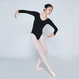 Discount adult ballet costumes - Gimnasia Leotardo Ballet Adult Ballet Costumes Justaucorps Body Danza bambina Sexy Clothes Bodysuit Leotards for Women