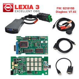 Diagnostic lexia3 online shopping - Lexia3 OBD2 Diagnostic tool Lexia PP2000 V48 V25 For Citroen Peugeot Diagbox with FW B Professional scanner
