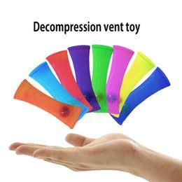 Marmi di stoffa tessuta Spremere giocattolo Marmi di vetro Antistress Stupire giocattolo di scrivania Battiscopa di base in acciaio intrecciato palla decompressione Giocattolo antistress