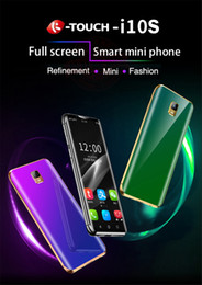 "smartphone gold NZ - 3.5"" Anica Mini Smartphone MTK6580 Quad Core 2GB RAM 16GB ROM Curve Screen Touch Good Quality 8MP Camera Google Market Face ID 3G Cellphone"