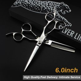 "$enCountryForm.capitalKeyWord UK - 6.0""Sale Silver Japanese Hair Scissors Japan 440C Cheap Hairdressing Scissors Thinning Shears Hairdresser Shaver Haircut 9.19"