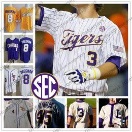 Kids jersey baseball online shopping - Custom LSU Tigers Baseball Any Name Number Purple White Yellow Cream Gray Daniel Cabrera Antoine Duplantis Men Youth Kid Jersey