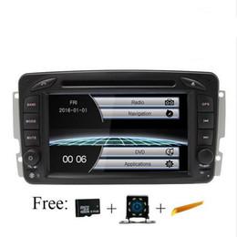 Mercedes benz viano online shopping - reproductor de DVD de coche para Mercedes Benz W209 W203 M ML W163 Viano W639 Vito Din Car Radio GPS Multimedia estéreo navegación RDS