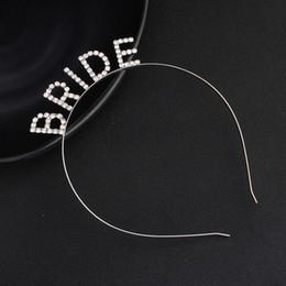 Sparkle Toy Australia - Baby Girls Headband Headwear Toy Bridal Letter Headband Tiara with Sparkling Rhinestone Elegant Crown for Wedding Party Decor