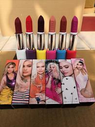 $enCountryForm.capitalKeyWord Australia - 2019 NEW matte Lipstick M Makeup Luster Retro Lipsticks Frost Sexy Matte Lipsticks 6 colors lipsticks with