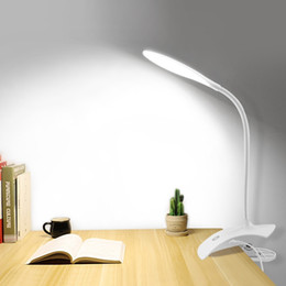 $enCountryForm.capitalKeyWord Australia - Touch 3 Modes Desk Usb Table Bedside Table Lamp With Clip Bed Reading Book Night Light Led Desk Lamp