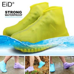 woods covers Australia - EiD practical Reusable Silicone Waterproof Rain Shoe Cover durable Outdoor Rainproof Hiking Skid-proof Cycling Sport Shoe Cover