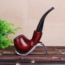 Polishing PiPes online shopping - New Red Sandalwood Pipe and Old Hand polished Pipe and Tobacco Fittings