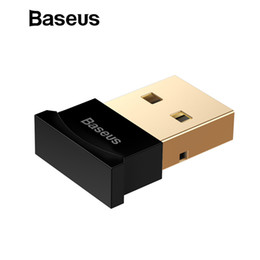 Usb Adapter For Bluetooth Australia - Baseus Mini USB Bluetooth Adapter Gadget Bluetooth 4.0 PC Computer Music USB Receiver Adapter for ps4 Wireless Mouse Keyboard