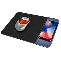 Apple mouse pAds online shopping - QiChen W Rubber Wireless Charger Portable Mouse Mat Qi Wireless Charging Pad for Samsung S10 Note8 iPX Xsmax Any Smart Phone
