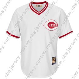 bab719a8c6b Cheap custom Barry Larkin Cool Base Jersey Stitch customize any number name  MEN WOMEN YOUTH baseball jersey XS-5XL