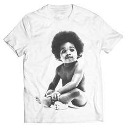 Discount biggie shirts - Ready to Die Baby Notorious B.I.G Biggie Hip Hop Street Wear Graphic T-Shirt Brand New T Shirts