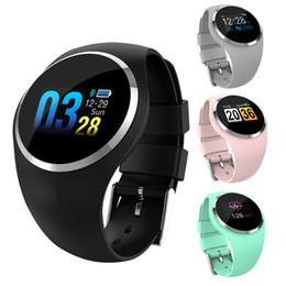 $enCountryForm.capitalKeyWord Australia - Q1 Woman Fitness Bracelet IP67 Waterproof Smart Band Blood Pressure Monitor Passometer Heart Rate Tracker Smart watch for Women