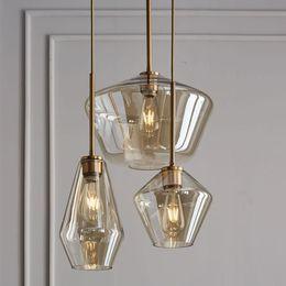 $enCountryForm.capitalKeyWord NZ - Nordic Modern Glass Pendant lights Fixtures Loft LED Hanging Pendant Lamp for Kitchen Restaurant Living Room Bedroom E27