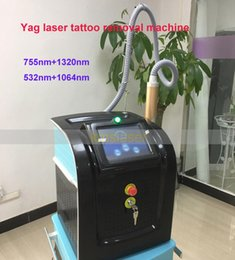laser pigment removal NZ - Pico Laser Machine Q Switch 1064nm 532nm 755nm Tattoo Removal Pigment Freckle Remove Skin Rejuvenation Salon Clinic Use Beauty Equipment