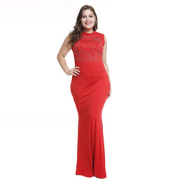 Bright Maxi Dresses Dgt Occasion Long Sleeve Maxi Dresses UK - Sexy Trumpet Mermaid Dress Summer  Women Sleeveless Party Club