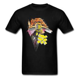 $enCountryForm.capitalKeyWord Australia - Interstellar Owl Print Tshirts 2018 Latest Design 3d Digital Graphic Tee Shirts 100% Cotton Slim Fit Clothes Undershirts