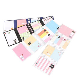 Stationery Australia - Stationery Memo Pad Bookmarks Creative Colorful Sticky Notes Paper Stickers Copper Plate Paper Memo Pads Notebooks Writing Pads