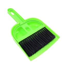 toilet accessories set UK - Pet Sweeper Pet Small Broom Set Cat and Dog Gadgets Small and Medium Dog Cleaning Tools Cat Scoop Toilet