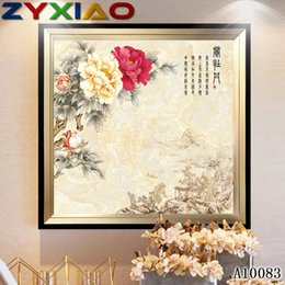 $enCountryForm.capitalKeyWord Australia - ZYXIAO Posters and Prints flower red rose oil modern Oil Painting Canvas No Frame Wall Pictures for Living Room Home Decoration A10083