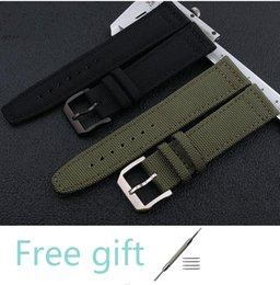 $enCountryForm.capitalKeyWord NZ - Upscale 20 21 22mm Composite fiber+Genuine Leather Strap Watch Band Charm Black Men Women Watch Strap for