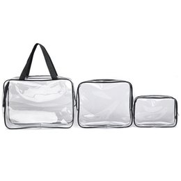 sexy ladies handbags NZ - 2019 Women Fashion Transparent PVC Bags Travel Organizer Clear Makeup Jelly Package Sexy Zipper Lady Outdoor Handbag
