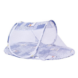 $enCountryForm.capitalKeyWord UK - Portable Newborn Baby Bed cradle Crib Collapsible Mosquito Net Infant Cushion Mattress mobile bedding crib netting 110*60*38cm Yurt C6682
