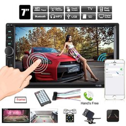 "Back Audio Australia - Autoradio Multimedia Mp5 Player 7"" Touch Screen Bluetooth 2 Din Car Radio Usb Tf Fm Support Back Up Camera Auto Audio Stereo"