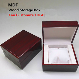 $enCountryForm.capitalKeyWord NZ - 2018 MDF Wooden Watch Storage Case New Wood Red Display Mechanical Gift Boxes Jewelry Pack Cases Can Customize LOGO
