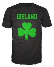 Custom Shirt Men NZ - Ireland Shamrock Irish Republic Saint Patrick T-Shirt T-shirt Men Man's Casual White Short Sleeve Custom XXXL Group T Shirts