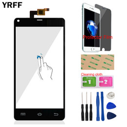 Thl Touch screen online shopping - Mobile Phone Touch Panel Front Glass For THL T5 T5S Touch Screen Digitizer Panel Glass Lens Sensor Protector Film Adhesive