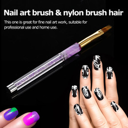 $enCountryForm.capitalKeyWord Australia - Nail Art Polish Brush Pen UV Gel Nail Gel Polish Brushes 3D Tips Effect Manicure Dotting Painting Fingernail Tool