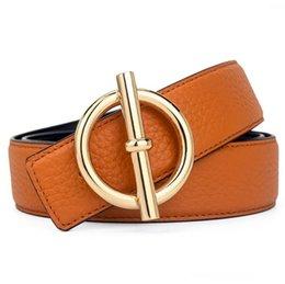 Com Cintos Box Handbag Mens Mulher Belt marca H Liso Cintos Buckle Homem Largura 3,4 centímetros 10 cores Opção venda por atacado