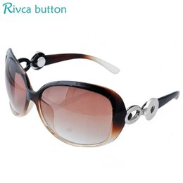 Snap button SunglaSSeS online shopping - Snap Button Sunglasses Women Fashion Summer Sun Glasses Outdoor Goggles Eyeglasses Fit mm Snap Button Jewelry