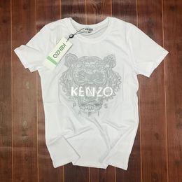 Vente en gros broderie t-shirt été femmes tshirt femme streetwear blanc manches courtes t-shirt mens t-shirts camiseta Couple portant chemise homme 3474556