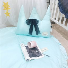 doll decoration games 2019 - Crown Kawaii Northern Europe Photography Sofa Bed INS Doll Plush Decoration Stuffed Baby Child Toys Xams Gift Cushion pi