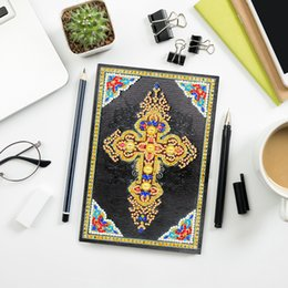 $enCountryForm.capitalKeyWord Australia - Zooya Diy 5d Special Diamond Painting Notebook Diamond Embroidery Notebook Diamond Mosaic A5 Diary Book Picture Gift NB45