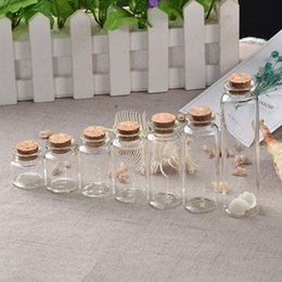 $enCountryForm.capitalKeyWord NZ - Mini Bottle with Cork Stopper 10ml 15ml 20ml 25ml 30ml 40ml 55ml Glass Jars idea for Wedding Small Wishing Bottles Gifts 12pcs